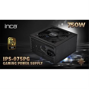 Inca Ips-750 750w 80+ Bronz Power Supply 80 Plus