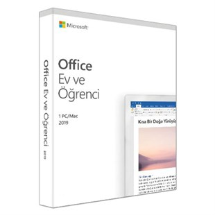 Microsoft Offıce 2019 Home And Student Turkce Kutu 79G-05176