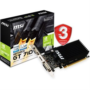 Msı Nvıdıa Geforce Gt 710 1Gd3H Lp 1Gb 64 Bit Ddr3 Ekran Kartı